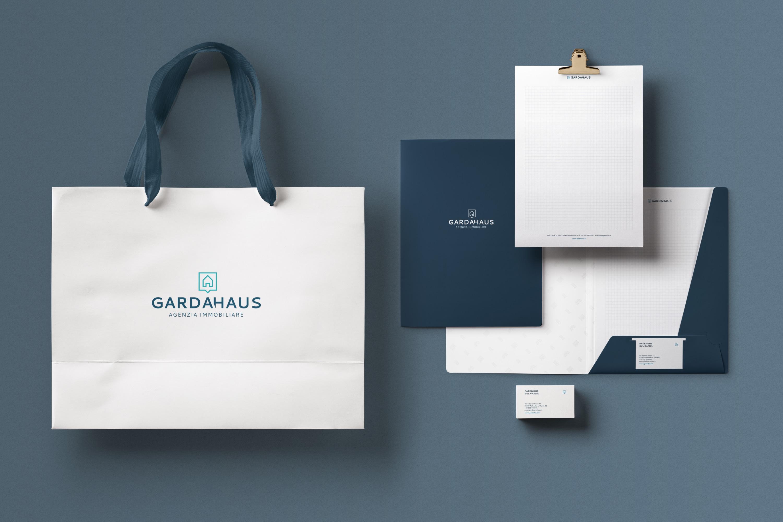 Graphic Design per Agenzia Immobiliare - Garda Haus